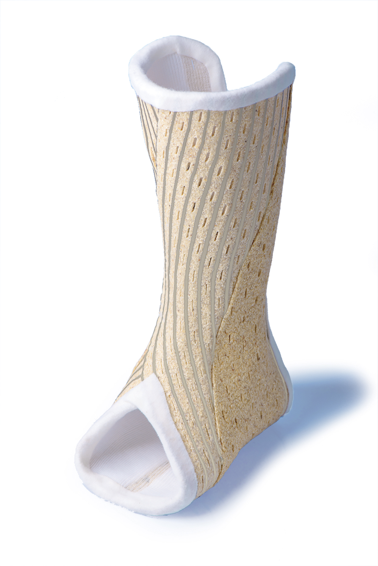 Figure 1. A removable semi-rigid orthosis